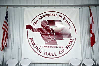 06-10-11 - Boxing Hall of Fame Fist-Casting