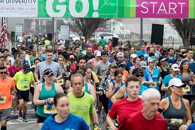 Augusta University Half Marathon 2-24-18
