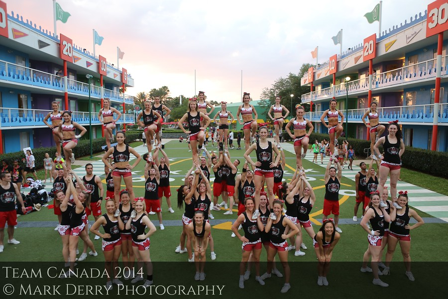 Team Canada Cheerleading by Mark Derry Photography 4
