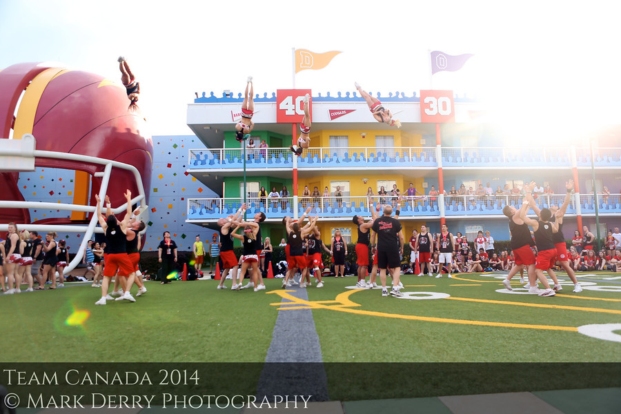 Team Canada Cheerleading by Mark Derry Photography 6