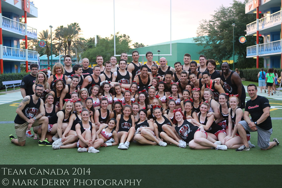 Team Canada Cheerleading by Mark Derry Photography 8