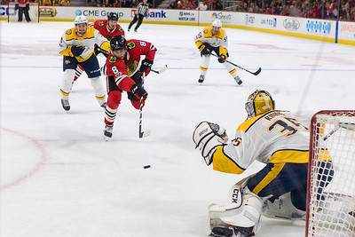Blackhawks v Nashville Predators 10.27.17 - Nick Schmaltz