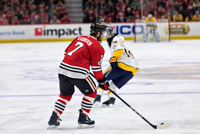 Blackhawks v Nashville Predators 10.27.17 - Brent Seabrook