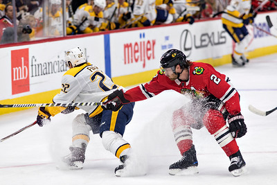 Blackhawks v Nashville Predators 10.27.17 - Keith