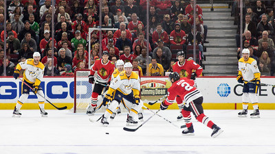 Blackhawks v Nashville Predators 10.27.17 - Kieth Pass