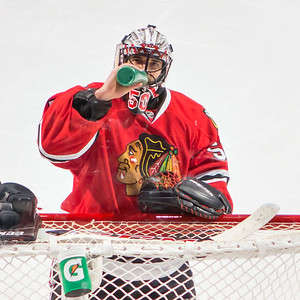 Corey Crawford giving me the Big Eye.
