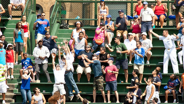 Home Run - Right-field Bleachers Wrigley Field 2012