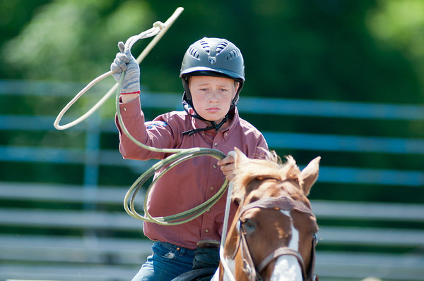 2011 June 26 - Meaford - The Ram Rodeo Tour rolled into the Meaford Fairgrounds this weekend.  The crowd was treated to a high energy event that showcased many talented rodeo riders.  Even the young riders took part. Photo Credit: Darren Eagles