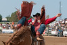 2012 Aug 24-26 - Cedar Run Horse Park - Thornbury -  The Cedar Run Horse Park was the location for the Rawhide Rodeo this past weekend.  The RCMP Musical Ride was on hand and performed an incredible show. Rider: Pro Rodeo's all time title winner, Shawn Minor.  <br /> Photo Credit: Darren Eagles