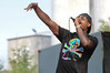 2011 August 6-7 - Collingwood - The Wakestock World Series Sports and Music festival rolled into Millenium Park this past weekend.  Thousands of fans were treated to spectacular wakeboard/wakeskate events as well as a full slate of bands playing on 2 stages.  American hip-hop artist, Talib Kweli, closes the Wakestock stage on Sunday.<br /> Photo Credit: Darren Eagles