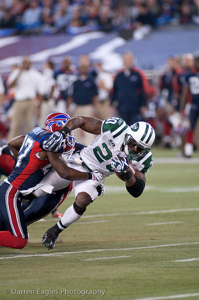 "Toronto - On - The Buffalo Bills host the New York Jets at Rogers Centre on Thursday night.  The Bills are in their second of five years, hosting a regular season ""home"" game in Toronto."
