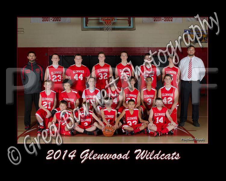Glenwood Basketball 2014 Team