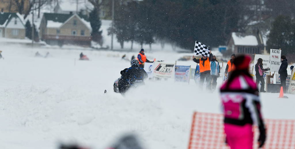 Neosho Snowmobile Races 2014