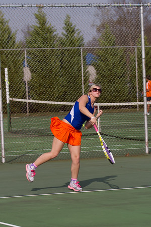 Girls Tennis 3.22.11 at WBHS