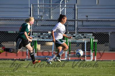 2013 JV Girls vs Mesa Verde