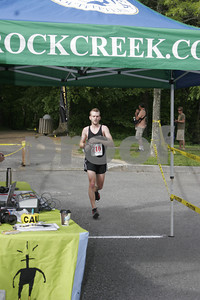 Second Place 1/2 Marathon winner Same Linhoss from Chattanooga, TN with a time of 1:30:41.