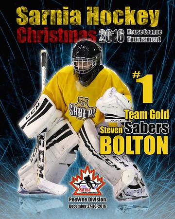 December 27-30, 2016 Sarnia Hockey Christmas Tournament