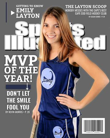 Sports Magazine Cover - Layton