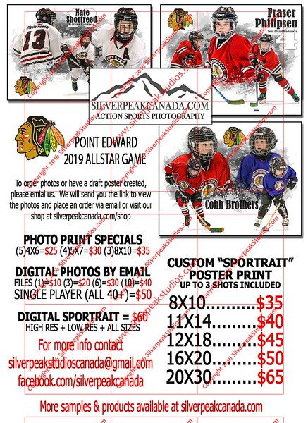 2019 Point Edward All Star Game Flyer online