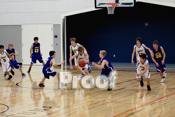 8th Grade Boys vs McKinleyville