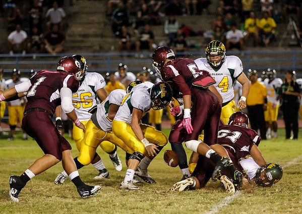 Farrington vs Leilehua 11/3/2012
