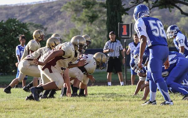 Moanalua vs Castle 8/31/2012