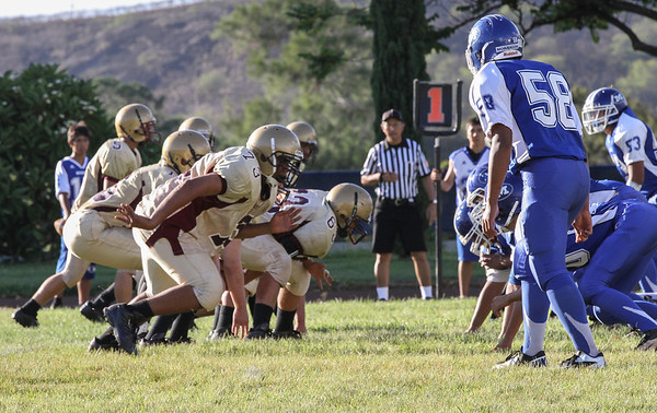 Moanalua vs Castle 8/31/2012