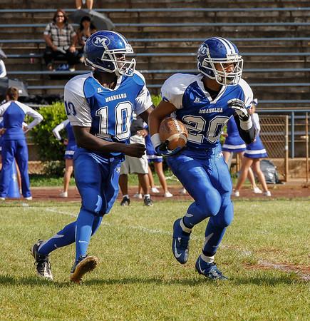 Moanalua vs McKinley 9/22/2012