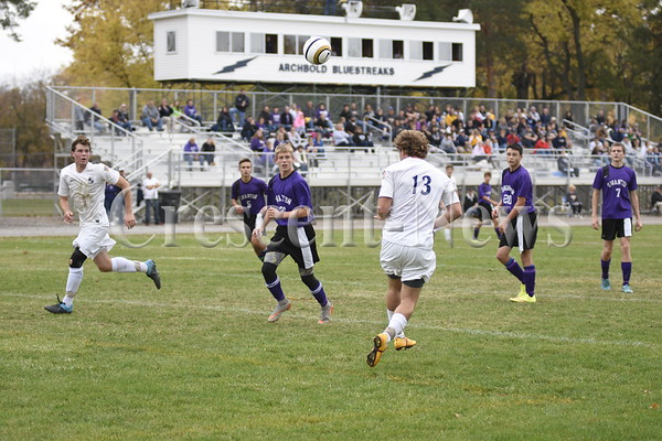 10-24-15 Sports D-III Swanton @ Archbold Sectional Boys Soccer