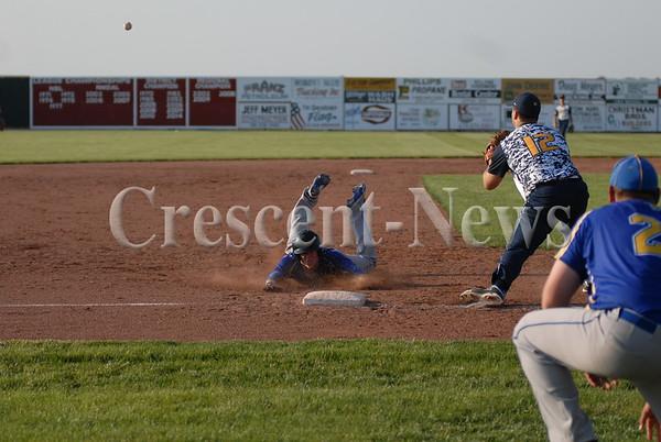 05-28-15 Sports Miller City vs Toledo Christian regional BB