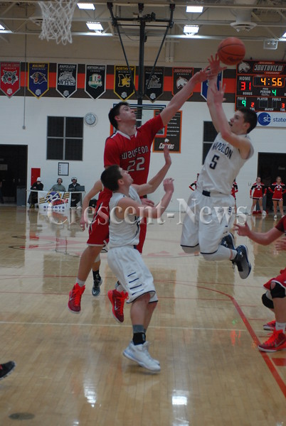 03-03-15 Wauseon vs Napoleon BBK D-II Sectional at Southview