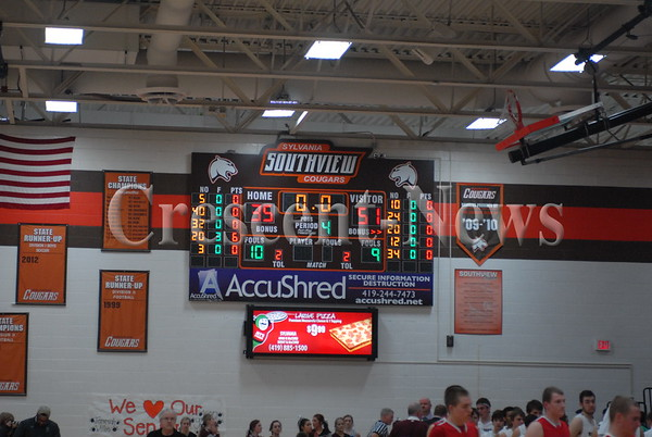 03-05-15 Sports Wauseon vs Rossford BBK Sectional Final