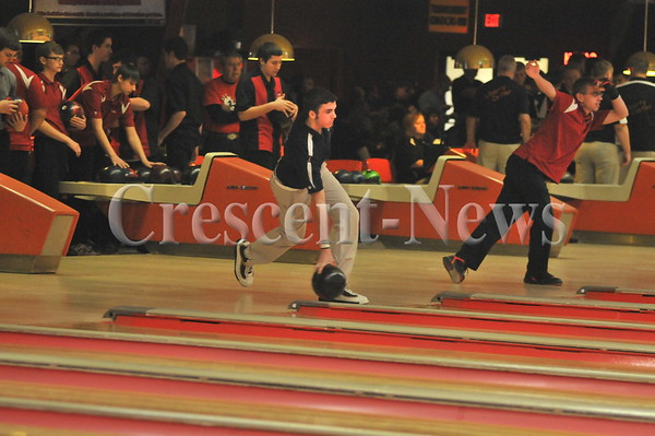 02-21-15 Sports Boys Sectional Bowling @ Napleon