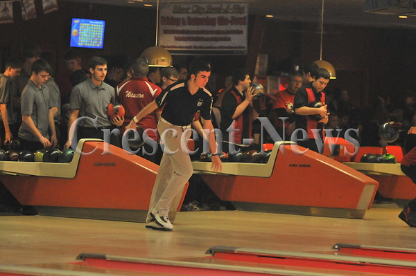 Boys sectional bowling @ Napoleon