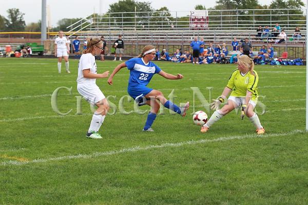 09-26-15 Defiance @ Paulding Girls Soccer