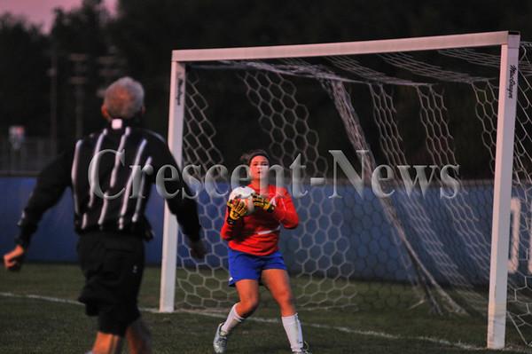 10-01-15 Sports St Marys @ Defiance girls soccer
