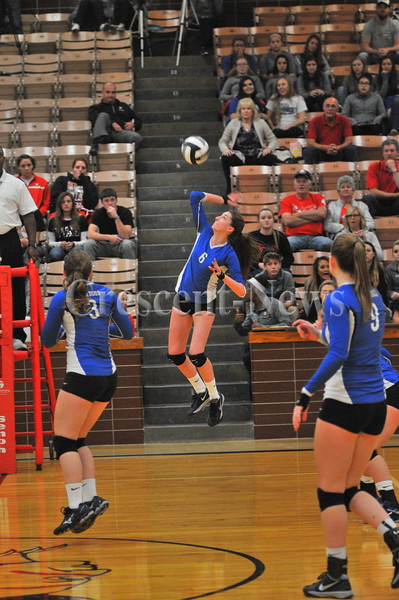 10-20-15 Sports Defiance @ Lima Shawnee sectional VB