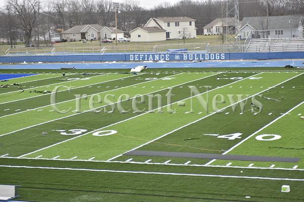 12-17-15 Sports Defiance Football Field