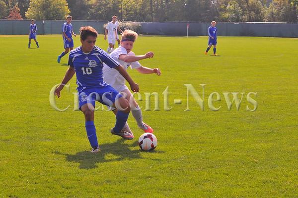 Defiance @ Bryan boys soccer