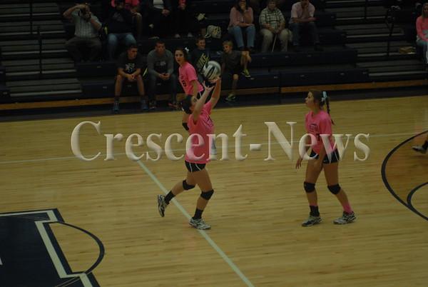 10-06-15 Sports Southview @ Napoleon VBall