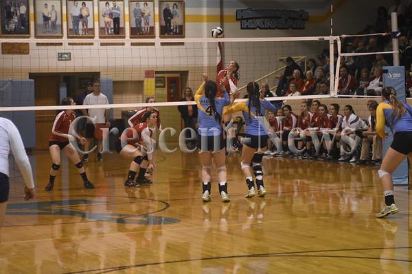 10-13-15 Sports Hicksville @ Ayersville VB