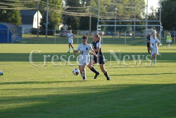 09-14-15 Sports Toledo Whitmer @ Napoleon Girls Soccer