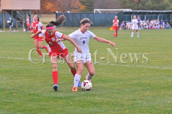10-22-15 Sports Bowling Green @ Bryan Girsl sectional soccer
