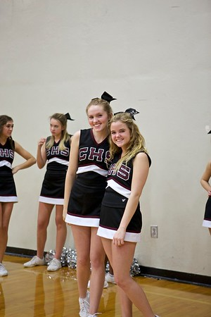 CHS Basketball Cheer