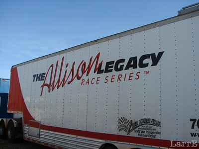 The Allison trailer is the series headquarters