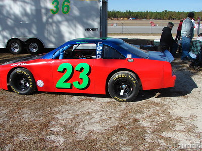 This is Keith Gwaltney's car the driver is his son Alex.