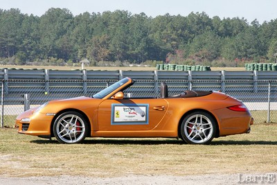 The Porsche Club of America pace car