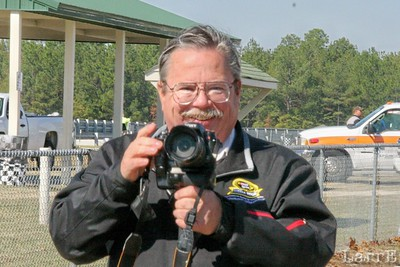 famous race photographer John Davison was at the track today.