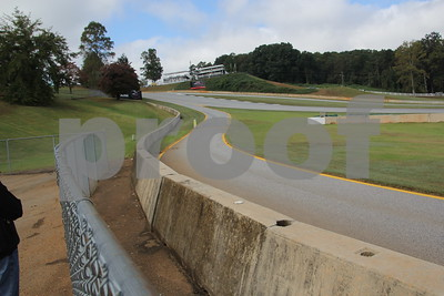 this is the pit entranced just before turn 12.