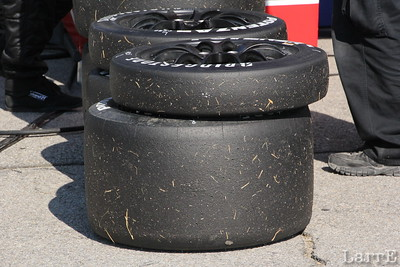front and back tires